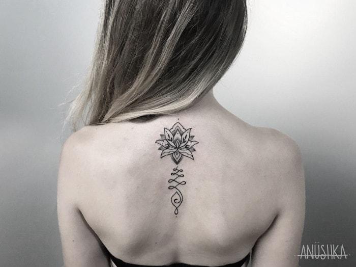 Flor espalda