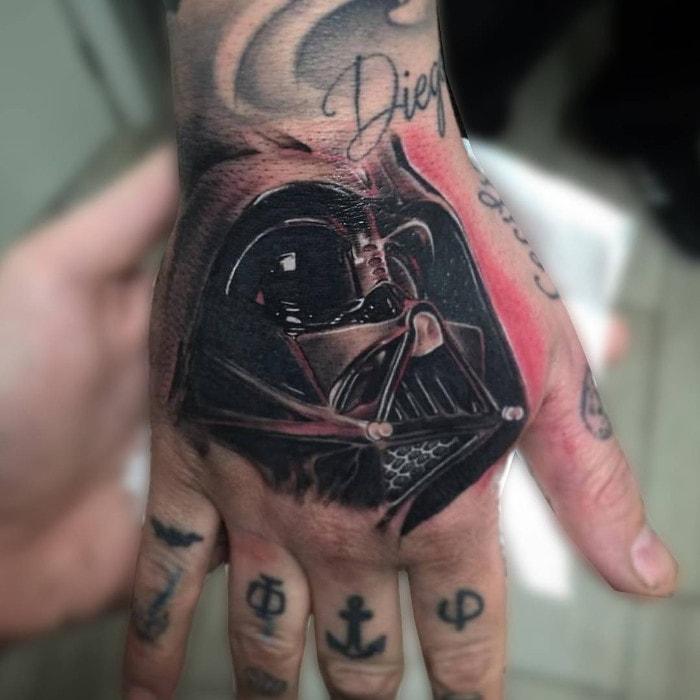 Darth Vader mano
