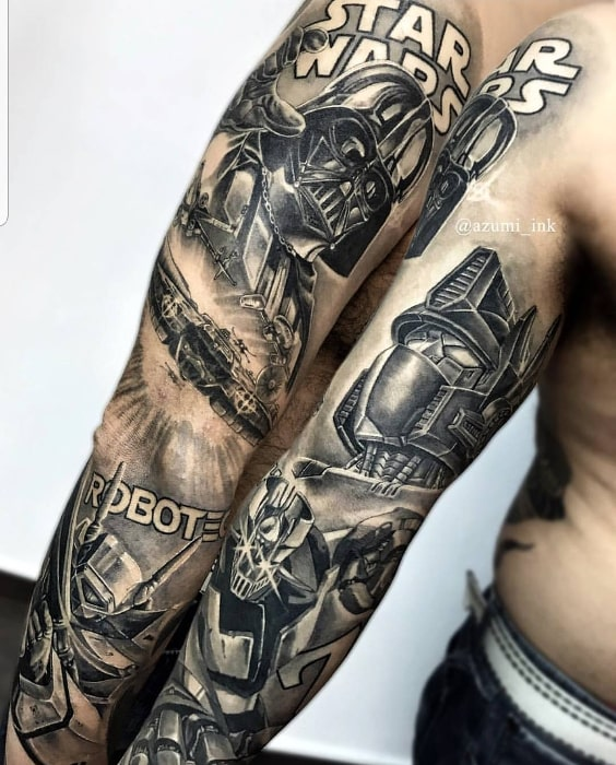 Dark Vader robots