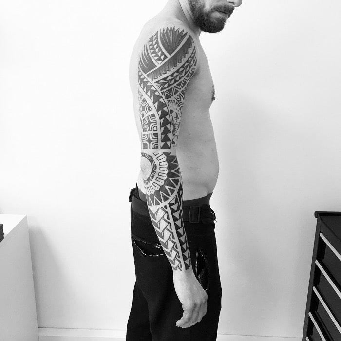 Maorí brazo largo