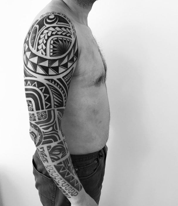 Maorí hombro bíceps antebrazo