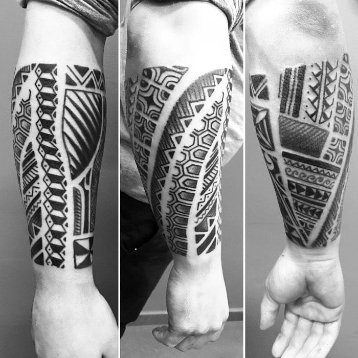 Maorí antebrazo sin muñeca 3