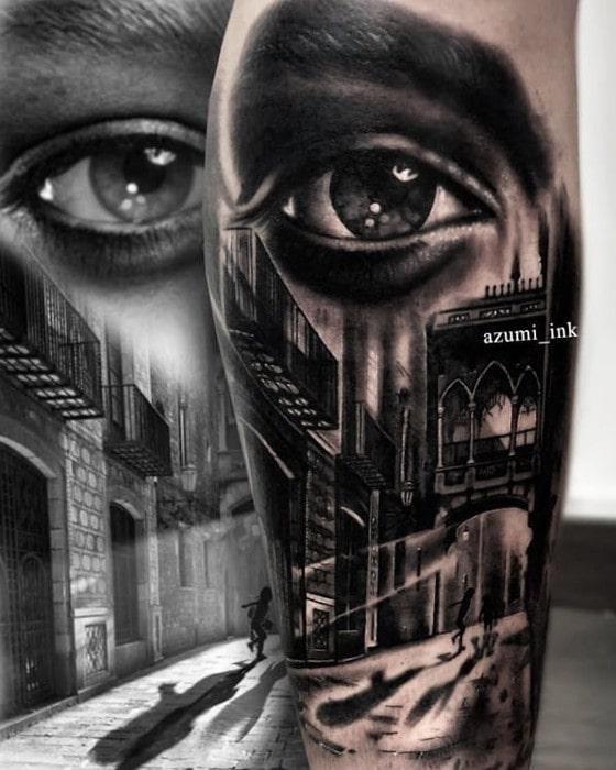 Ojo calle gotico