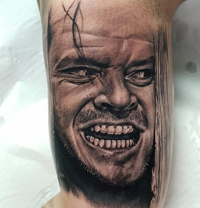 Jack Nicholson el resplandor