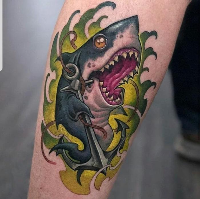 Tiburon ancla